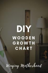 diy wooden growth chart